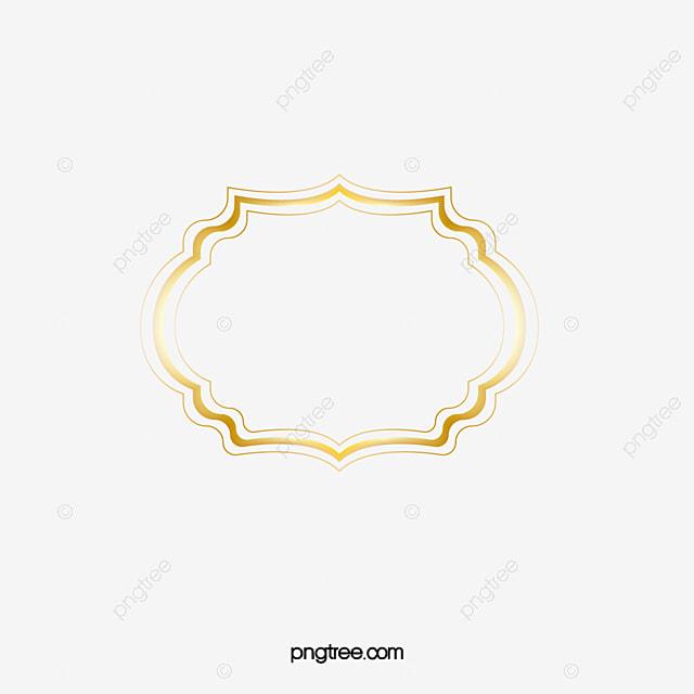 Free Gold Frame Pull, Frame Clipart, Gold Frame, Frame PNG