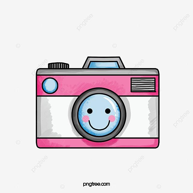 Cute Cartoon Camera, Cartoon Clipart, Camera Clipart, Cute