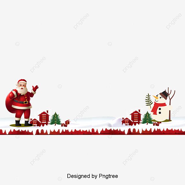 Christmas border psd