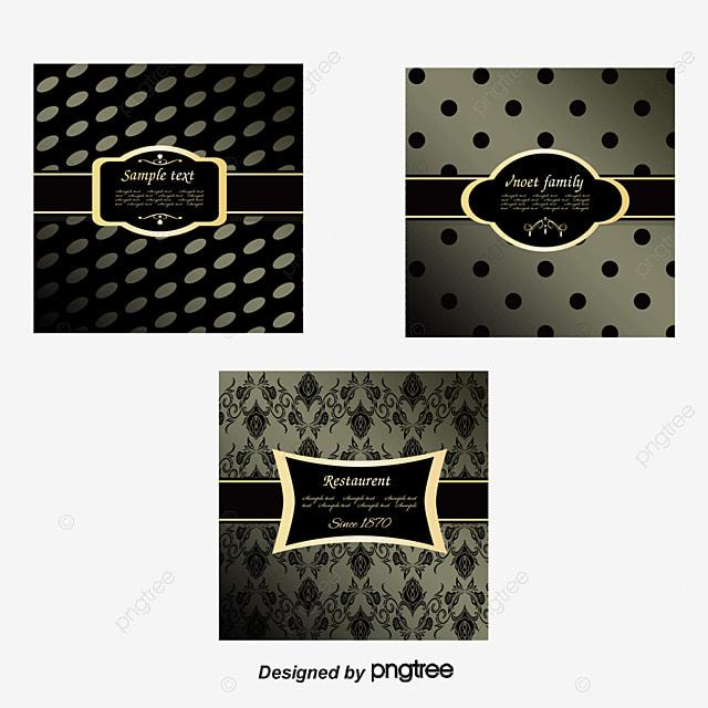 9 Ornate Frame Background Vector Material Frame Gorgeous Black