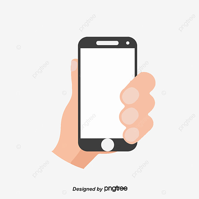 Flat Mobile Phone, Mobile Vector, Phone Vector, Cellphone ...