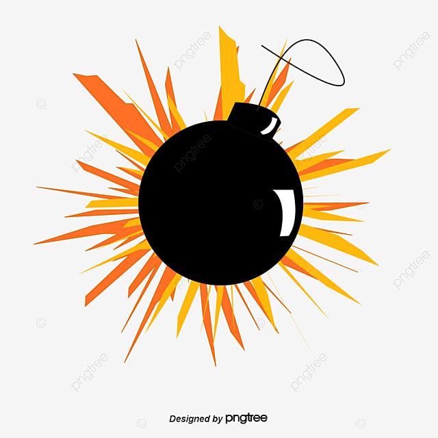 l explosion de la bombe dessin de peints  u00e0 la main bombe