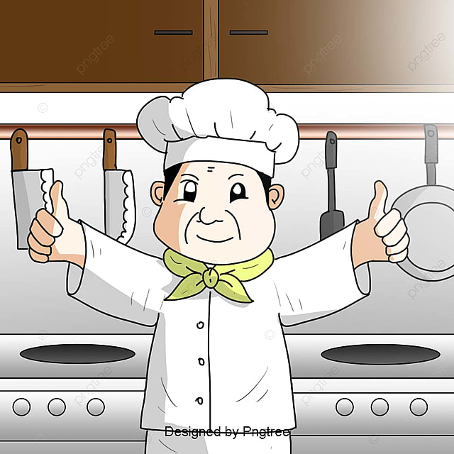 Creative Chef Border, Chef Clipart, Chef, Cooking PNG ...