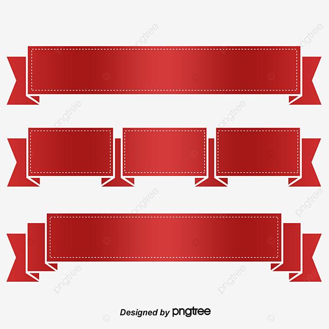 red ribbon vector red ribbon vector color ribbon png and vector rh pngtree com ribbon vector free ribbon vector art