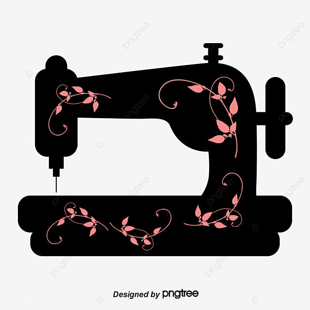 Sewing Machine Vector Sewing Machine Decoration Material PNG And Inspiration Sewing Machine Vector Free
