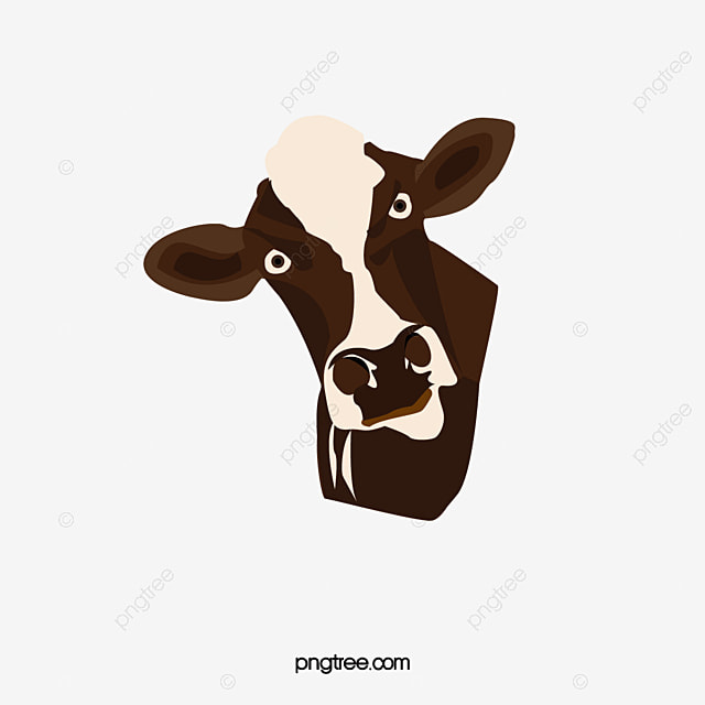 cow head cow clipart head clipart dairy cow png image