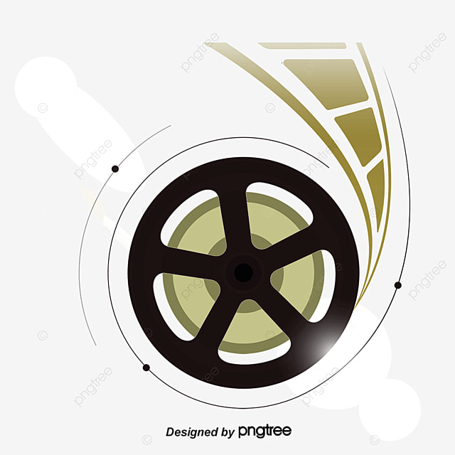 Hollywood film and television creative music logo, hollywood, the.