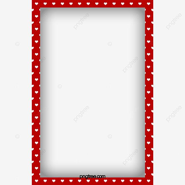 le mat u00e9riau de bordure rouge rouge bordure dot image png