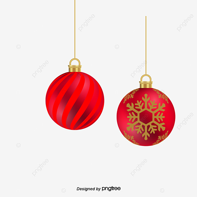 Nine Lovely Christmas Ball Holiday Decorations Balls Decoration Free PNG And Vector