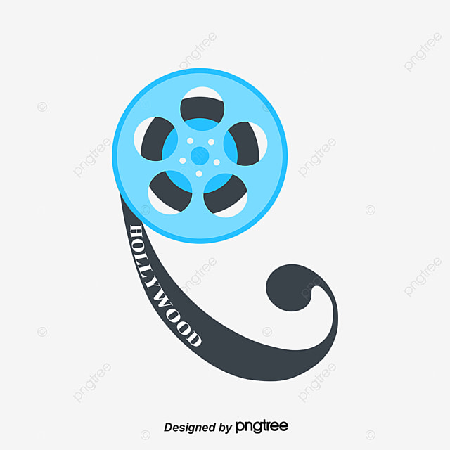 Movie Film Reel Vector Material Clips PNG And