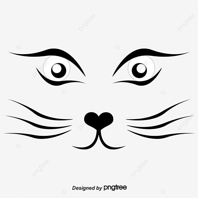 gambar vektor comel kucing muka dicat kucing cat muka dicat wajah kucing png dan clipart untuk muat turun percuma gambar vektor comel kucing muka dicat
