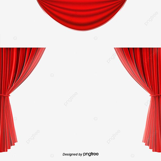 cortinas rojas cortina cortina cortina png y psd gratuitos - Cortinas Rojas