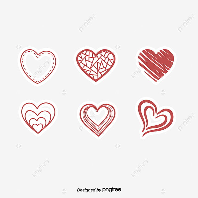 Love stickers red love love stickers valentines day sticker png and vector