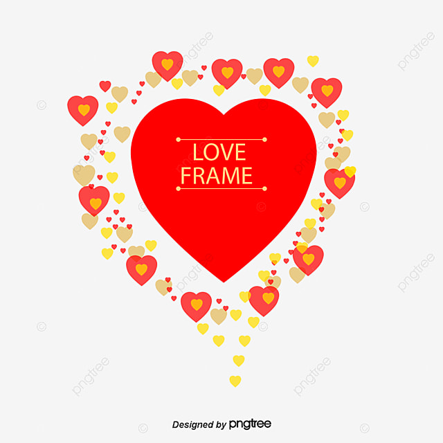 Love Frame PNG Images | Vectors and PSD Files | Free Download on Pngtree