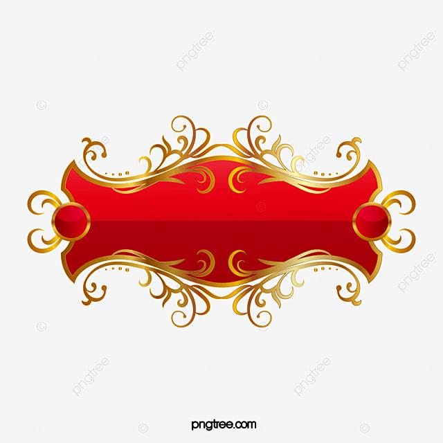 vecteur de banni u00e8re europ u00e9enne rouge banner de style