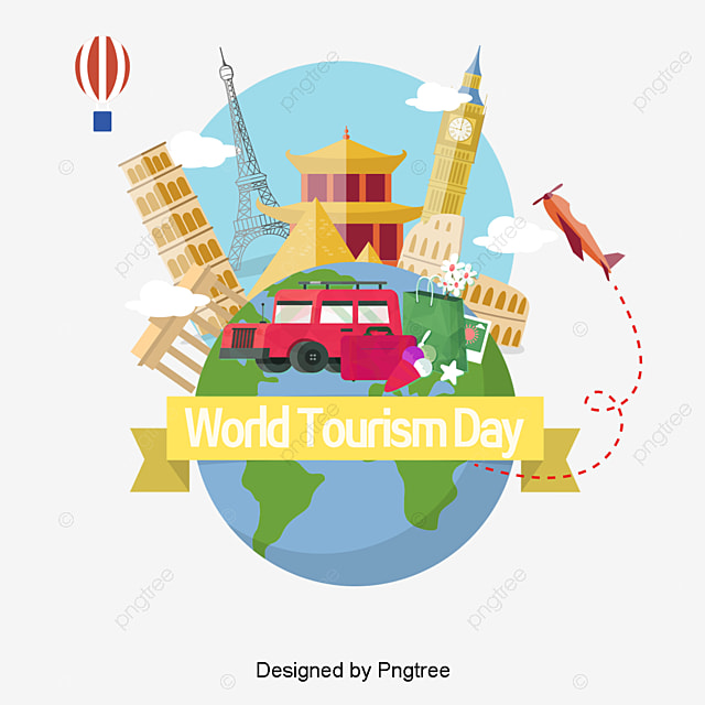 Global Travel Vector Material Art Design PNG And
