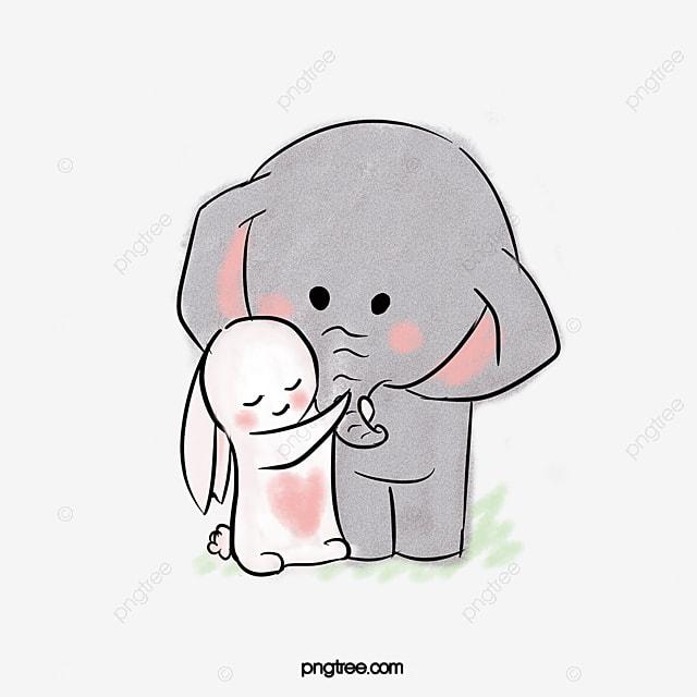 Fotos De Desenho De Animais Elefante Dos Desenhos Animados Baby