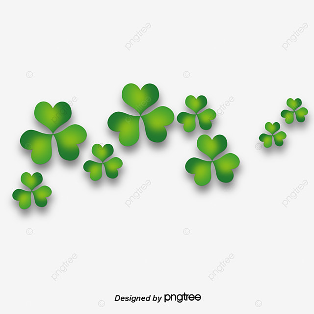 Four Leaf Clover Green Grass PNG And PSD