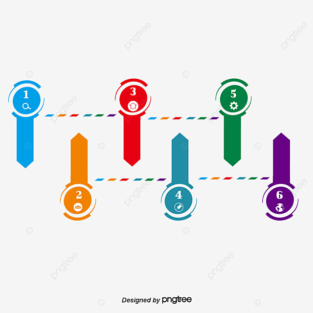 Diagrama Circular De Distribución Directorio Vector Diseño Creativo ...