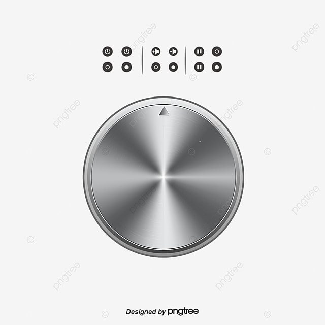 Off Switch And Volume Control Knob Symbols Switch Shutdown