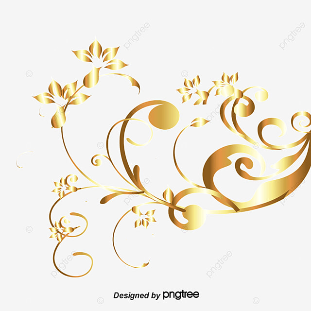 gold abstract luxury design background decorative pattern