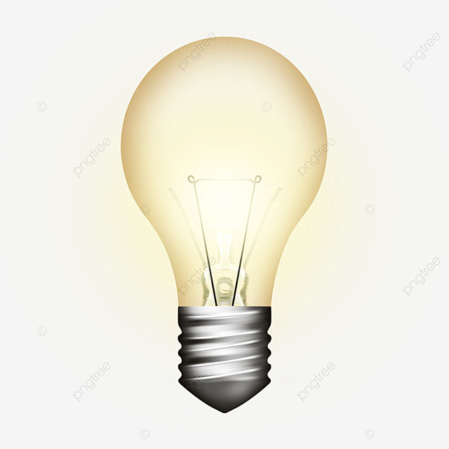Glowing Light Bulb Lamps Articles For Daily Use Free PNG Image And Clipart