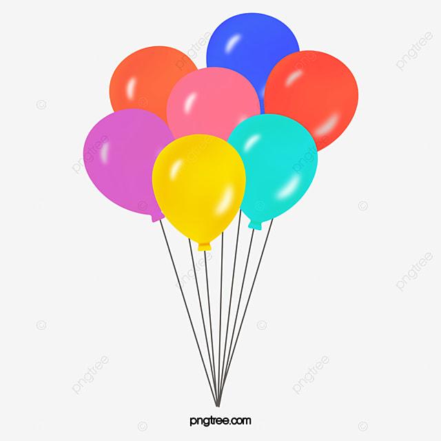 color cartoon happy birthday balloon hand painted cartoon happy rh pngtree com cartoon birthday present and balloons cartoon birthday balloons and presents