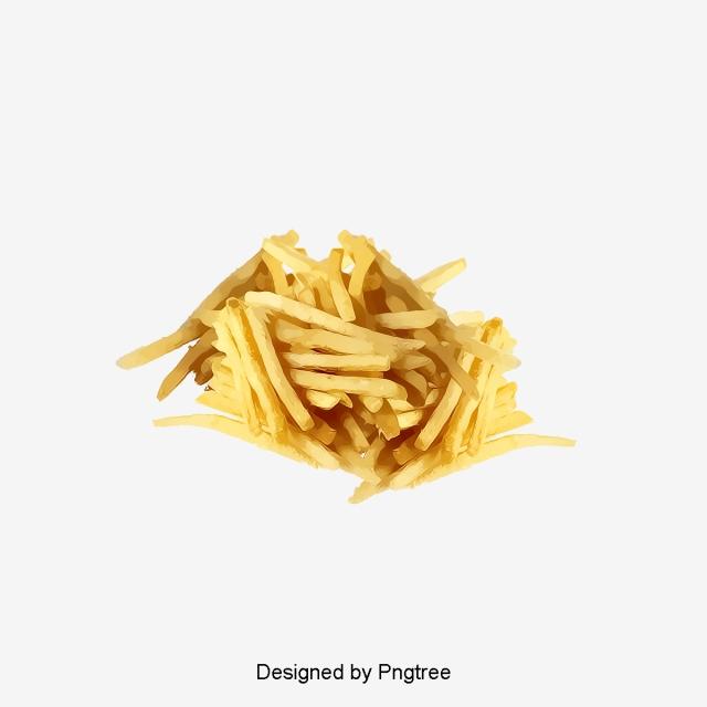 un tas de frites jaune des frites gourmet fichier png et