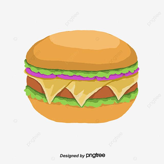 hamburger png vector material hamburger vector material
