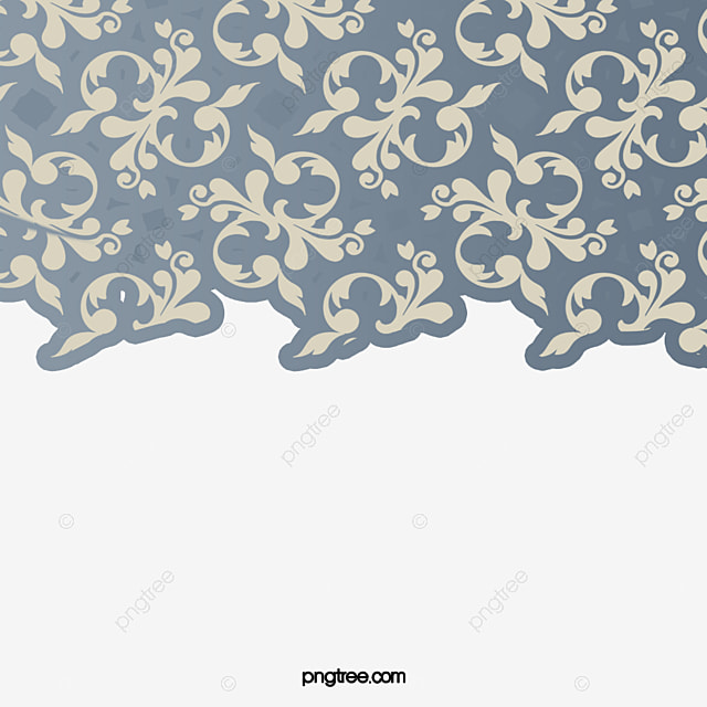 Elegant Retro Pattern Background Flowers Pattern Pattern PNG And Custom Background Pattern