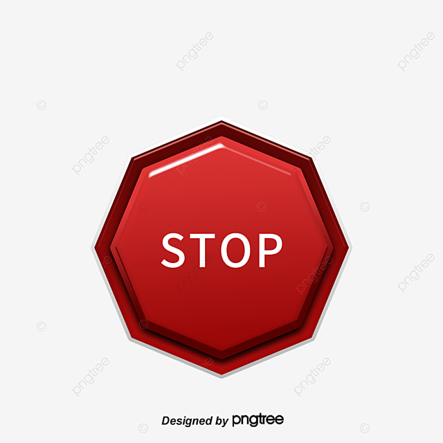 stop sign png vector material stop sign vector logo vector rh pngtree com stop sign vector file stop sign vector free download