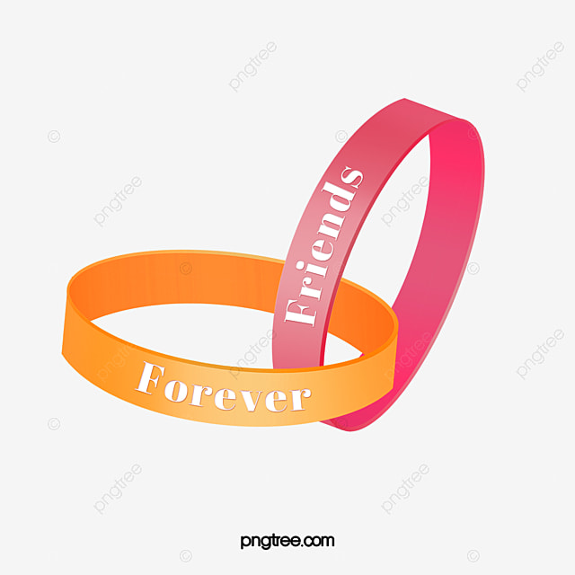 Vector Friendship Ring Wristband Friend PNG And