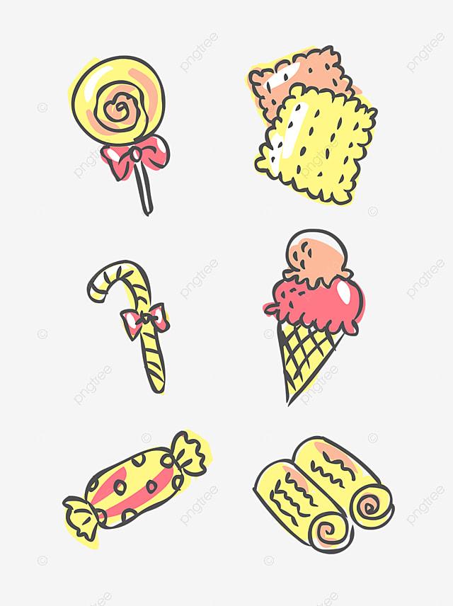 dessin de bonbons dessin couleur des bonbons image png