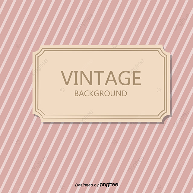 Retro Label Vector Material Plain Jane PNG And