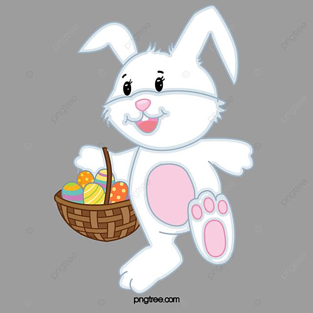 Cartoon Rabbits, Cartoon Clipart, White Rabbit, Cartoon