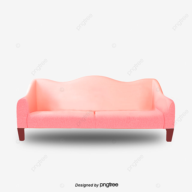 Pink Couch, Sofa, Pink, Pink Sofa PNG And PSD