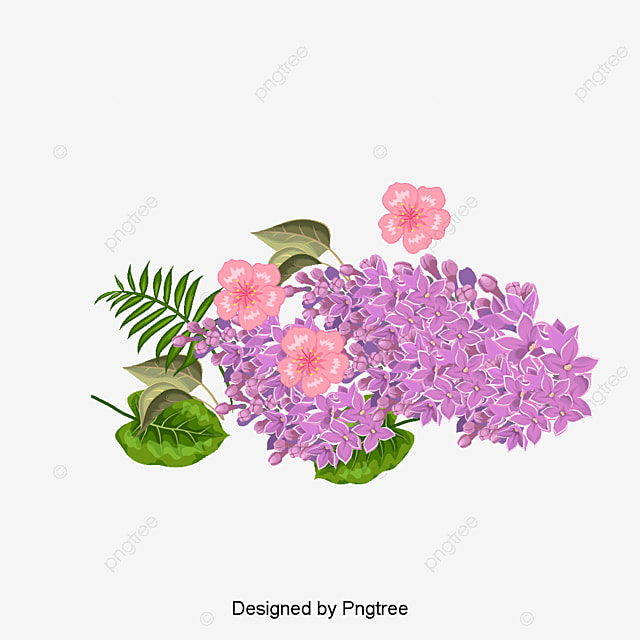 Watercolor Flowers Png Vector Psd And Clipart With: Vector Hand Painted Watercolor Bouquet, Vector, Hand