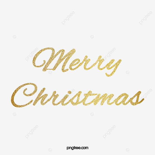 Merry En: Golden Merry Christmas, Golden, Christmas, Free Download