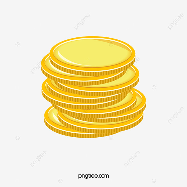 A Pile Of Gold Coins Stock Image, Gold, Coin, Coins PNG