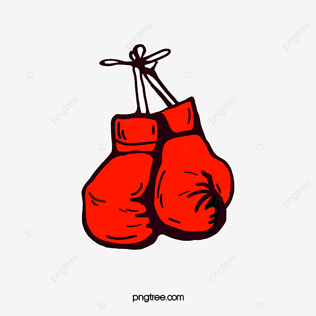 a pair of red boxing gloves cartoon boxing clipart gloves clipart rh pngtree com boxing gloves clip art images boxing glove clipart free
