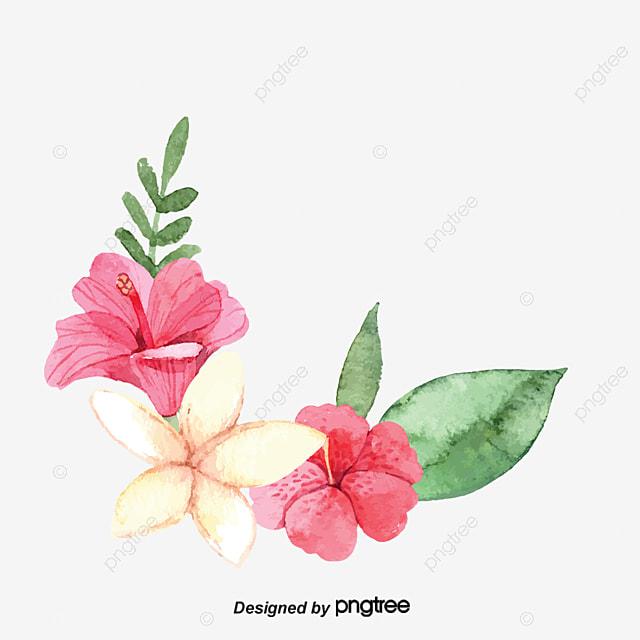 Creative flower frame pink flowers color flowers simple flowers creative flower frame pink flowers color flowers simple flowers png image and clipart voltagebd Image collections