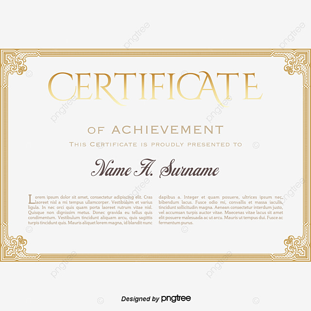 vector foreign certificate letter of appointment certificate vector letter vector vector certificate png