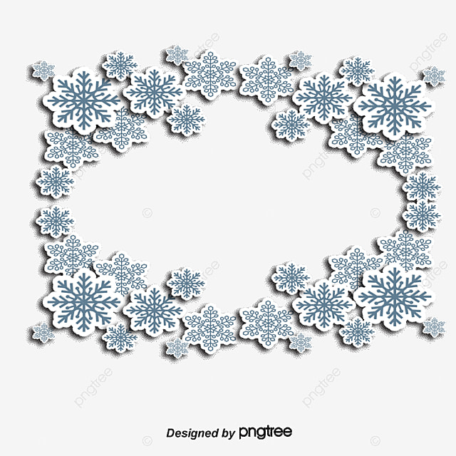 flocon de neige flocon de neige no u00ebl bordure png et