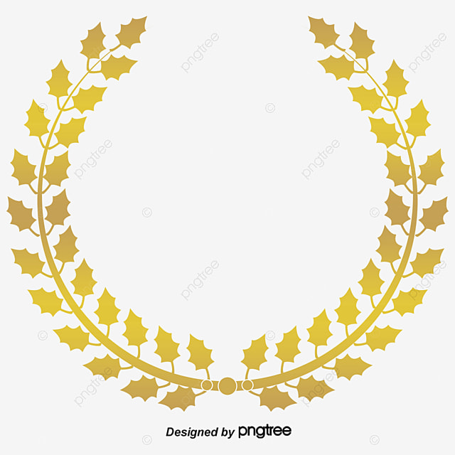 Gold Wreath Png
