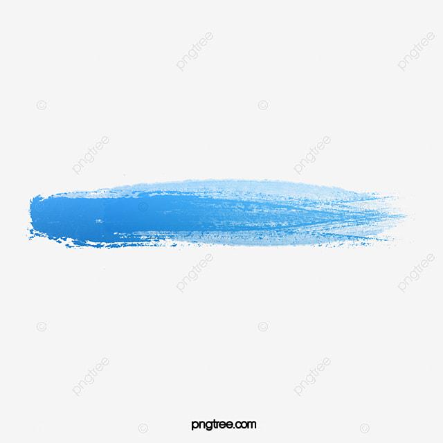 Brush Painting Blue, Brush Vector, Brushes Vector Material