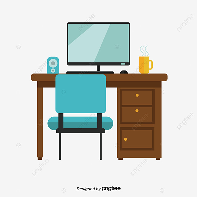 study office furniture study learn office png and vector for free rh pngtree com