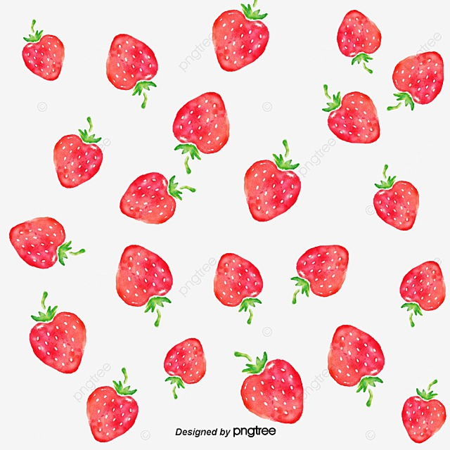 Strawberry Wallpaper Pink Creative Fruit PNG And PSD