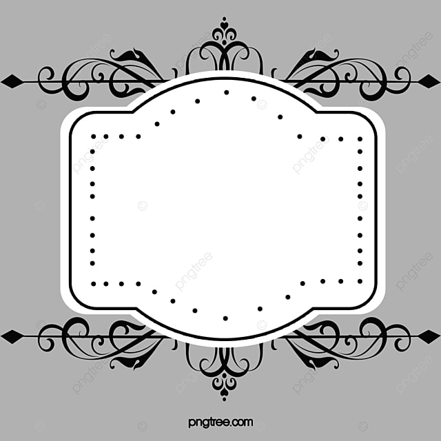 Ancient Frame Material, Border Vector, Vector Ancient Box, Frame PNG ...