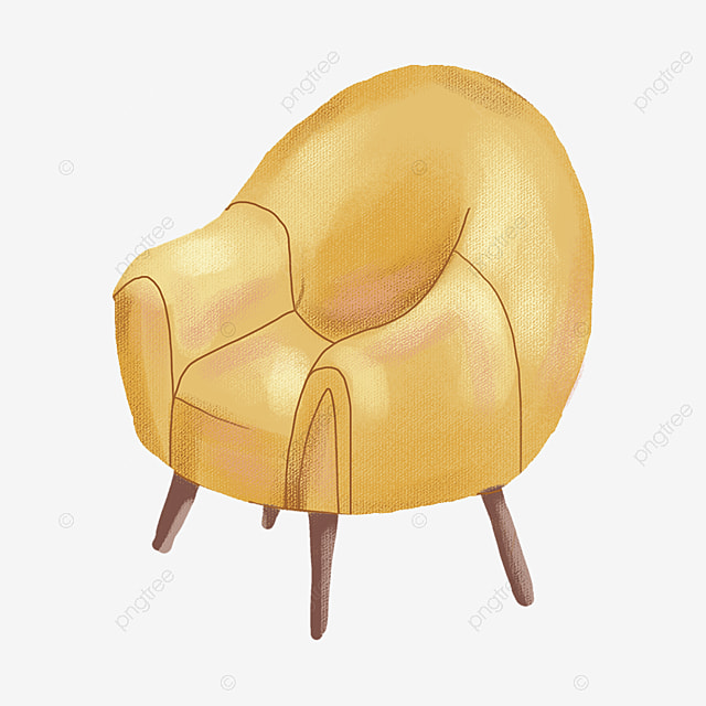Modern Sofa Single Furniture Png Image And Clipart