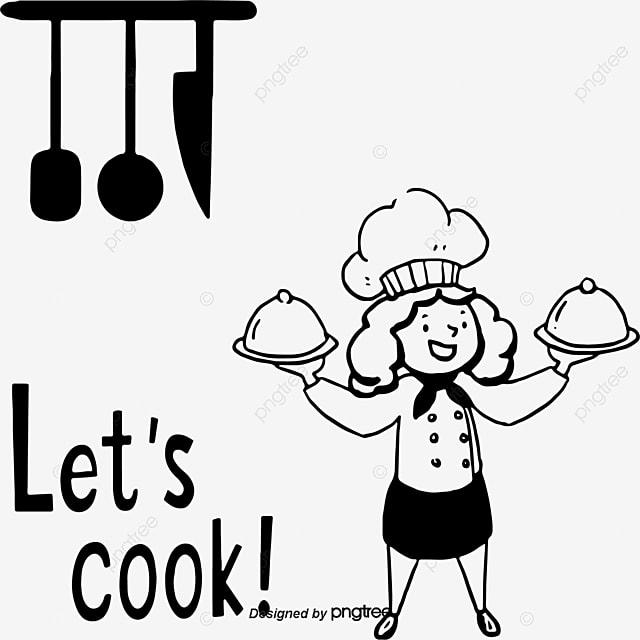 Préférence Chef de cuisine classique de dessin vectoriel, De Dessin Vectoriel  GK27